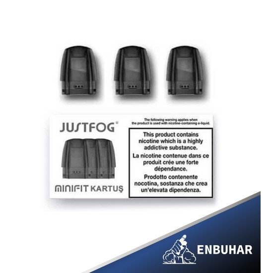 Justfog Minifit Pod Yedek Kartuş